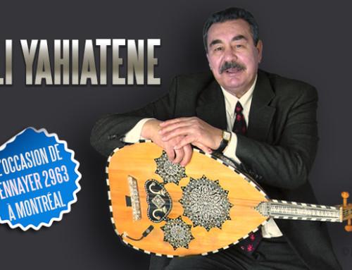 Akli Yahiatene à Montréal le 12 janvier