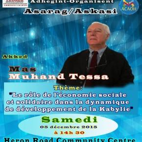 Le rôle de l'économie sociale et solidaire dans la dynamique de développement de la Kabylie