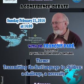 Transmitting the first language to children: a challenge , a necessity