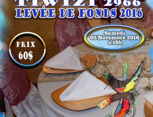Levée de fonds Tiregwa 2016