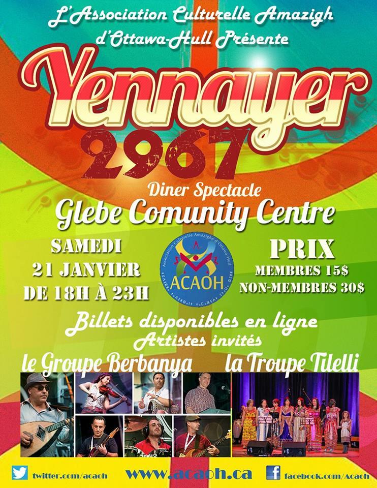 Yennayer 2967 - 21 Janvier 2017